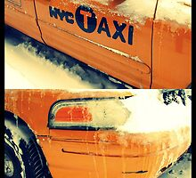 taxi in the snow by ShellyKay
