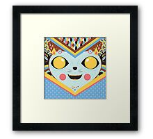 KUCING Framed Print