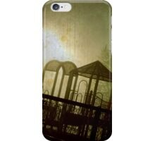 The Park at Night iPhone Case/Skin