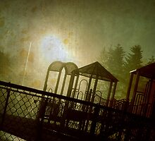 The Park at Night by fixtape