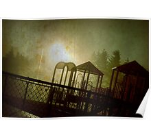 The Park at Night Poster