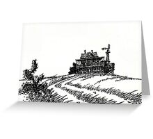 OLD HOFFMAN HOUSE ... Greeting Card