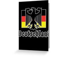 "Germany ""Deutschland"" T-Shirt Greeting Card"