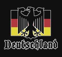 "Germany ""Deutschland"" T-Shirt by HolidayT-Shirts"