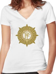 Irish Army Women's Fitted V-Neck T-Shirt