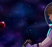 Eren in Space by Siruoa