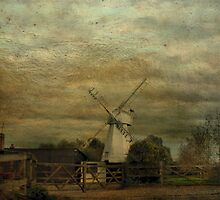 The White Windmill by Catherine Hamilton-Veal  ©