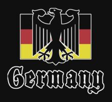 Germany Flag by HolidayT-Shirts