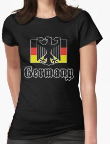 Germany Flag Womens Fitted T-Shirt