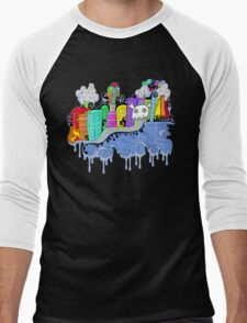 This City is Industrious.  Men's Baseball ¾ T-Shirt
