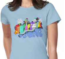 This City is Industrious.  Womens Fitted T-Shirt