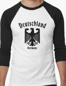 Deutschland Germany Men's Baseball ¾ T-Shirt