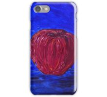 Red Apple on a Blue Day iPhone Case/Skin