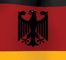 Trust Me I'm German Sticker