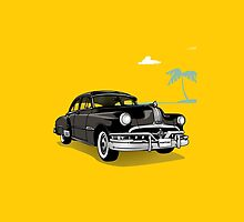 Pontiac Chieftain - 50s car by Zumra M. Waheed