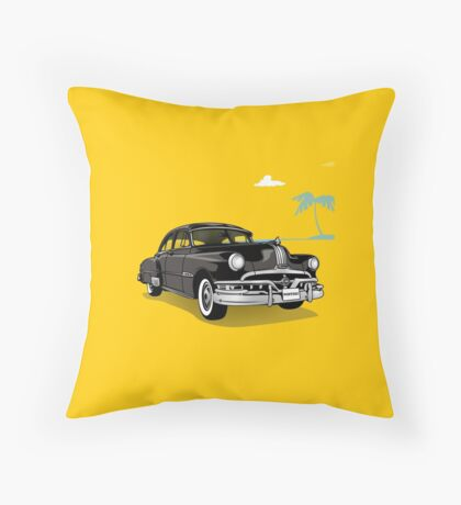 Pontiac Chieftain - 50s car Throw Pillow