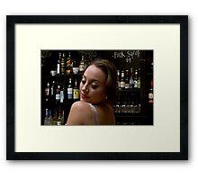 Cheap Drinks Framed Print