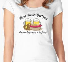 German Engineering Women's Fitted Scoop T-Shirt