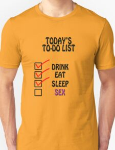 To-Do List T-Shirt