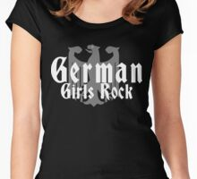 German Girls Rock T-Shirt Women's Fitted Scoop T-Shirt