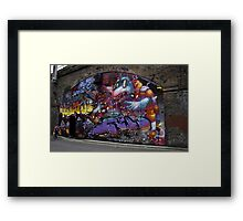 They come from afar Framed Print