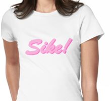 sike! barbie Womens Fitted T-Shirt