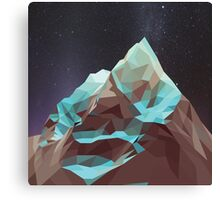 Night Mountains No. 5 Canvas Print