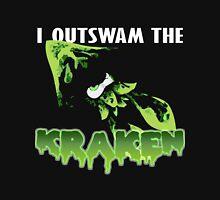 I Outswam the Kraken -Green Unisex T-Shirt