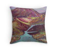 Dragonfield on Xion Throw Pillow