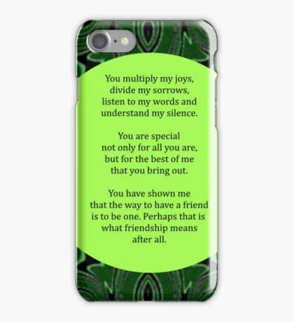 Multiply My Joys iPhone Case/Skin
