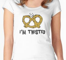 Pretzel I'm Twisted Women's Fitted Scoop T-Shirt