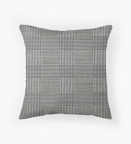Prince Of Wales Pattern Throw Pillow
