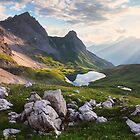 Rappensee Sunset by Michael Breitung