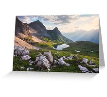 Rappensee Sunset Greeting Card