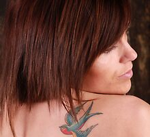 Naomee with tatoo & Lights 5 by Glynn Jackson