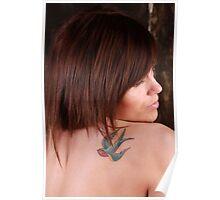 Naomee with tatoo & Lights 5 Poster