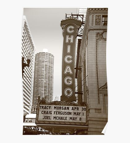 Chicago Theater Poster