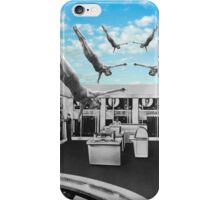 Swimming in a pool of Logic iPhone Case/Skin