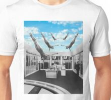 Swimming in a pool of Logic Unisex T-Shirt