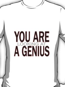 You Are Looking At A Genius T-Shirt
