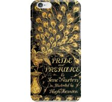 Pride and Prejudice Jane Austen Peacock cover iPhone Case/Skin