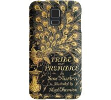 Pride and Prejudice Jane Austen Peacock cover Samsung Galaxy Case/Skin