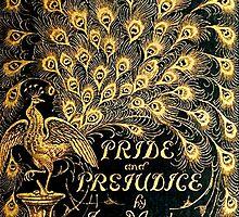 Pride and Prejudice Jane Austen Peacock cover by triinamariia