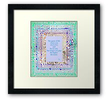 The Game of Life Framed Print