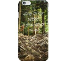 Going to the woods iPhone Case/Skin