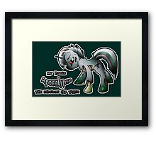 MLP: Horsemen of the Apocalypse: Pestilence Framed Print