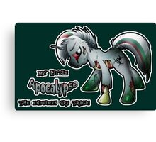 MLP: Horsemen of the Apocalypse: Pestilence Canvas Print