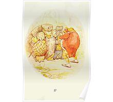 The Tale of Mister Jeremy Fisher Beatrix Botter 1906 0061 Sir Alderman Ptolemy Poster