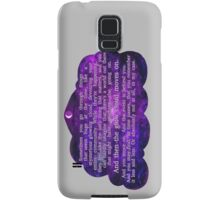 The Glow Cloud Moves On Samsung Galaxy Case/Skin