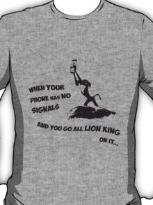 Go Lion King on it 2c T-Shirt